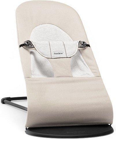 BABYBJORN - Bouncer Balance Soft - Beige/Grey Jersey