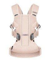 BABYBJORN ONE AIR - nosidełko ergonomiczne, różowy