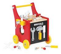 Janod - Wózek warsztat magnetyczny z narzędziami Bricolo