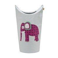 Lassig - Kosz na zabawki lub pranie Wildlife Słoń