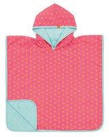 Lassig - Ręcznik Poncho Peach star