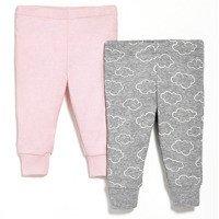 Skip Hop - Spodnie 2 szt. Pink 9M