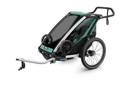 THULE Chariot Lite 1, przyczepka rowerowa dla dziecka - morski/czarny