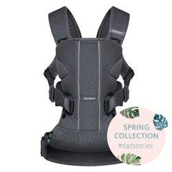 BABYBJORN ONE AIR - nosidełko ergonomiczne, antracytowy