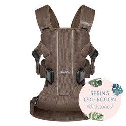 BABYBJORN ONE AIR - nosidełko ergonomiczne, brązowy