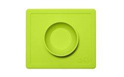 EZPZ - Silikonowa miseczka z podkładką 2w1 Happy Bowl zielona