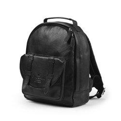 Elodie Details Plecak BackPack MINI - Black Leather