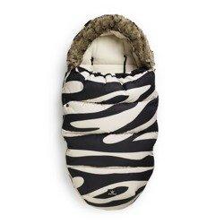Elodie Details - Śpiworek do wózka Zebra