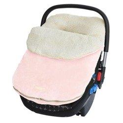 JJ Cole - Śpiworek Original Pink do fotelika samochodowego