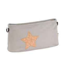 Lassig - Casual Label Organizer do Wózka Cork Star light grey