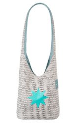 Lassig - Casual Label Torba Fan Shopper Twinkle aqua