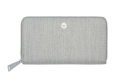 Lassig - Green Label Portfel z etui na karty Mix 'n Match Light grey