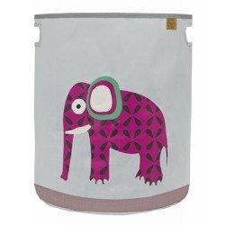 Lassig - Pojemnik kosz na zabawki Wildlife Słoń