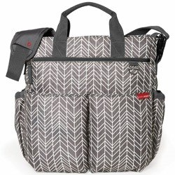 Skip Hop - Torba Duo Signature Grey Feather