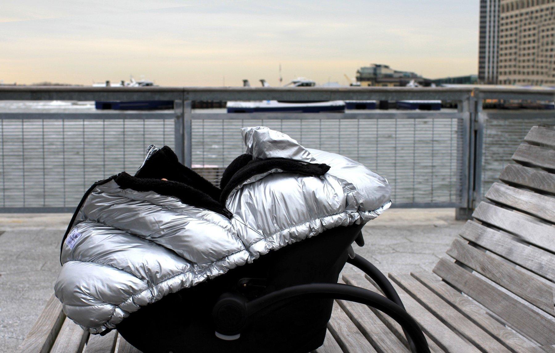 7AM - Śpiworek do fotelika samochodowego Glacier
