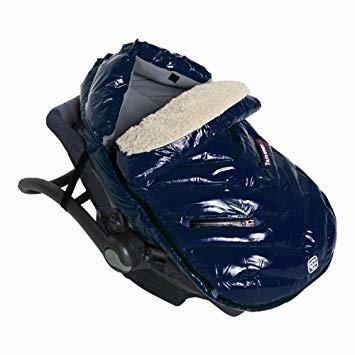 7AM - Śpiworek do wózka i fotelika samochodowego Polar Igloo S Oxford Blue