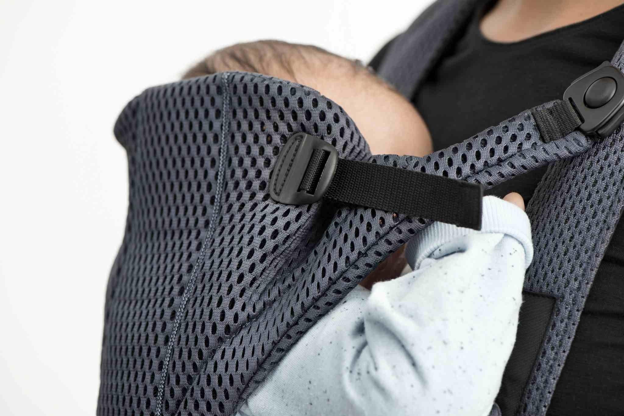 BABYBJORN MOVE 3D Mesh - nosidełko, Antracyt