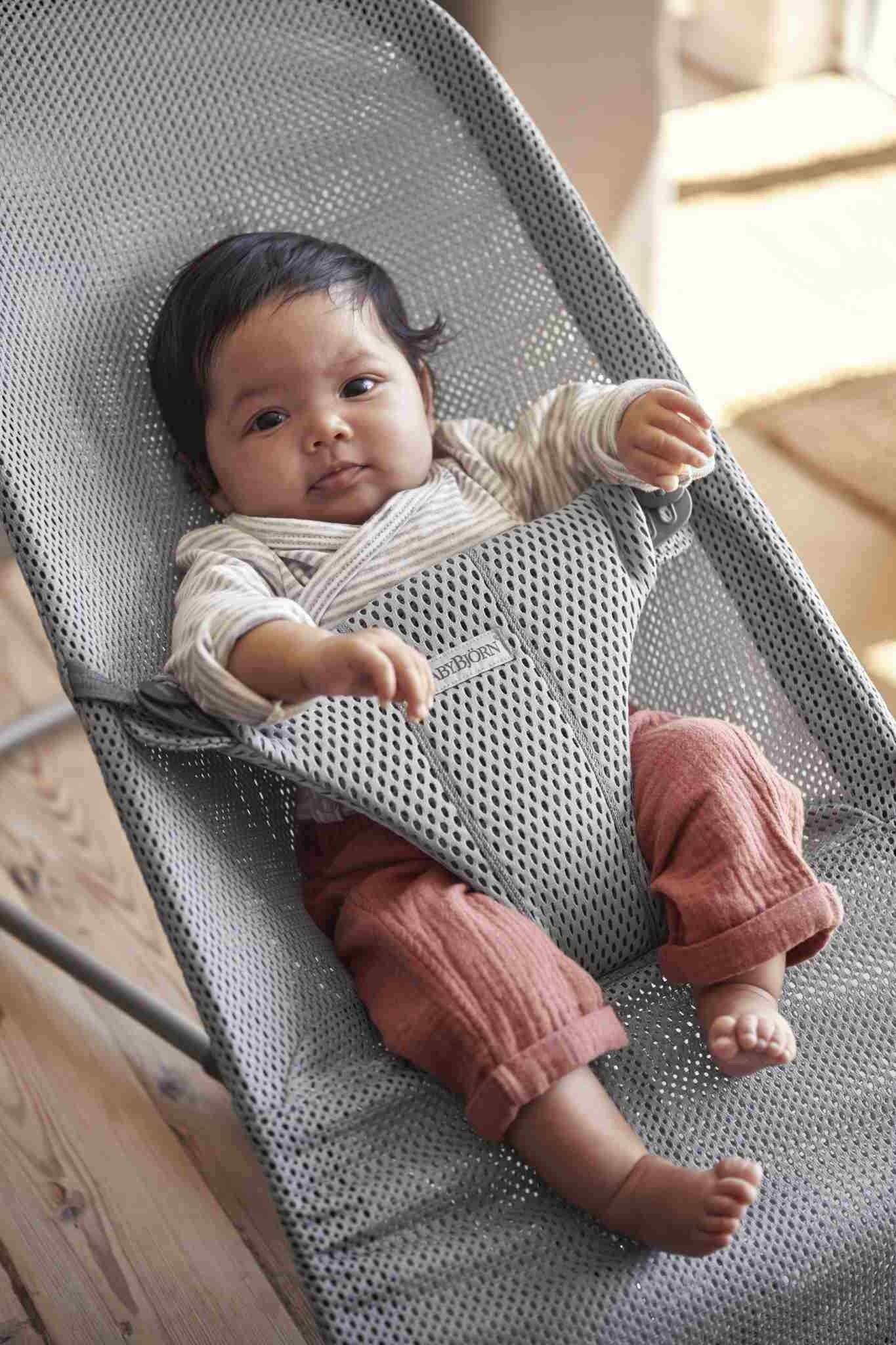 BABYBJORN - leżaczek BLISS MESH - Szary