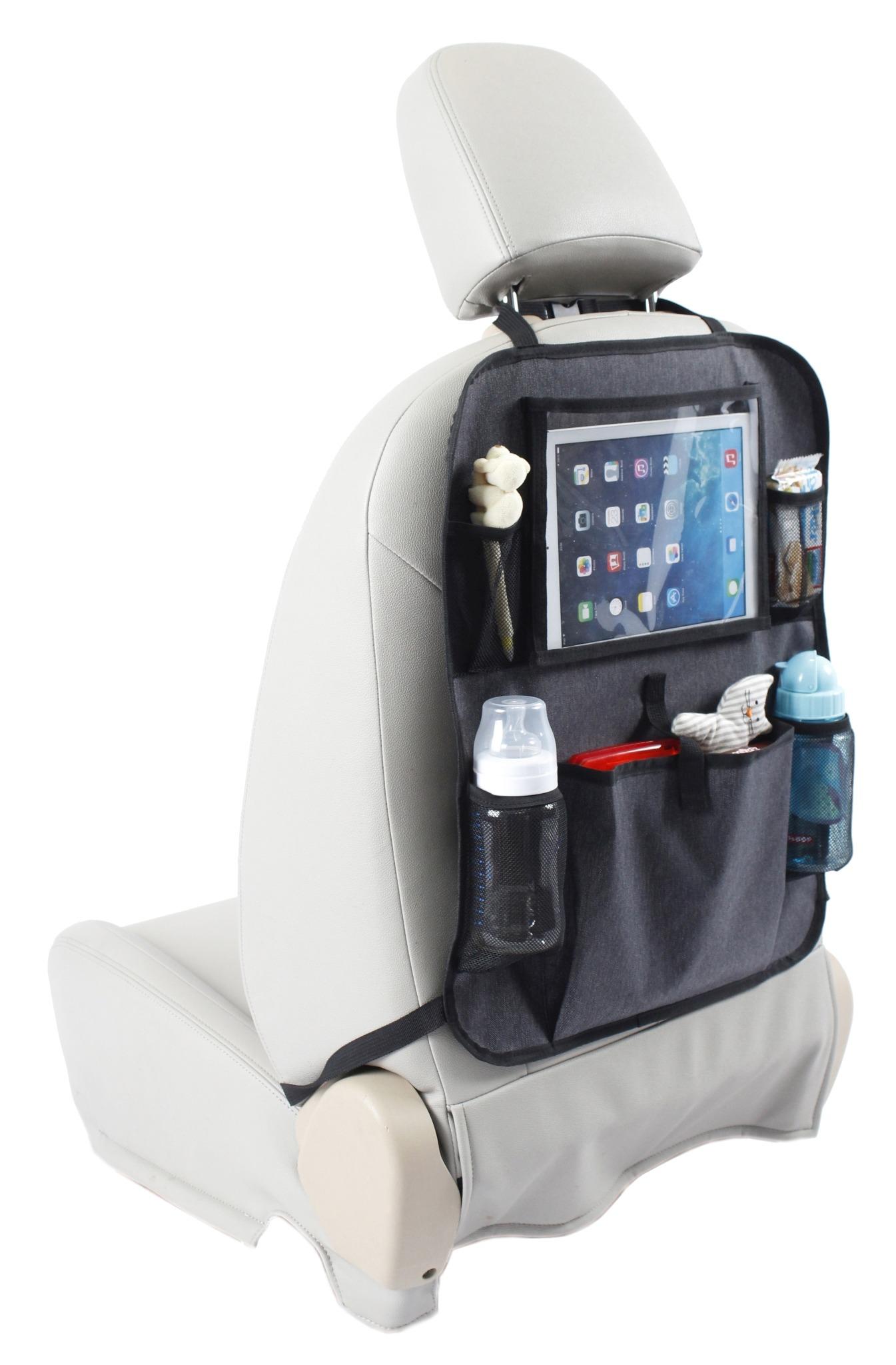 Baby Dan - Organizer na oparcie fotela samochodowego, szary