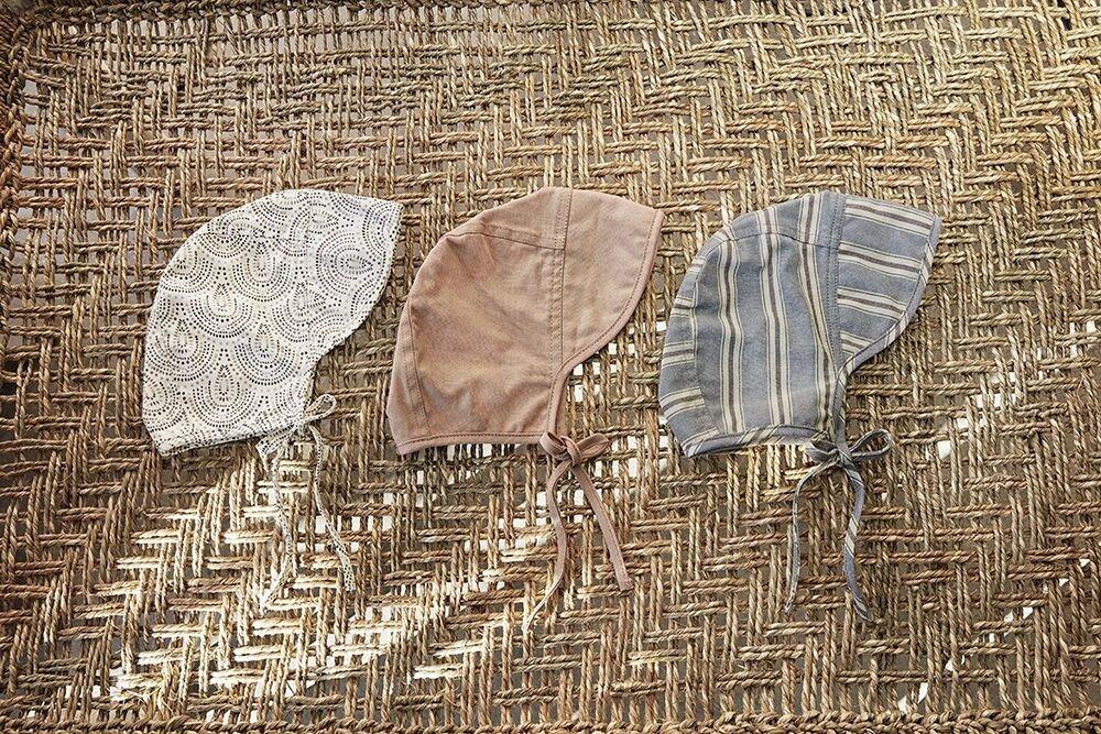 Elodie Details - Czapka Baby Bonnet - Desert Rain 3-6 m-cy