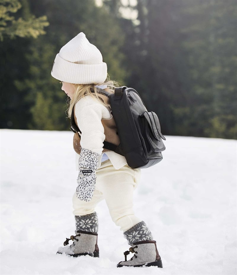 Elodie Details - Czapka Wełniana Vanilla White 6-12 m-cy