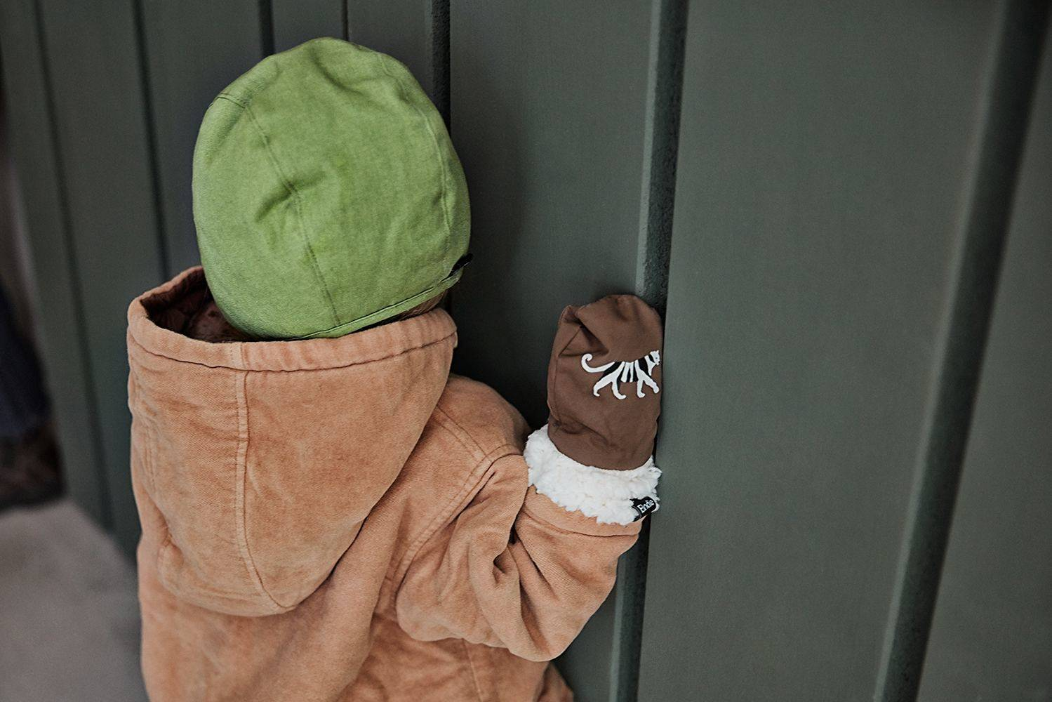 Elodie Details - Czapka Winter Bonnet - Popping Green 0-3 m-ce
