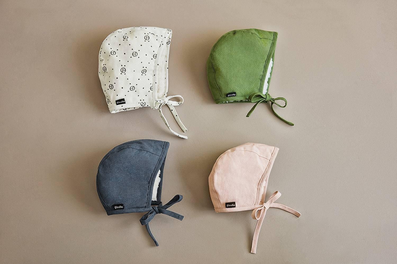 Elodie Details - Czapka Winter Bonnet - Powder Pink - 0-3 m-ce