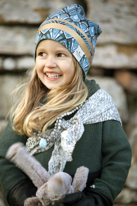 Elodie Details - Czapka - Gilded Everest Feathers 1-2y