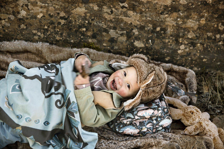 Elodie Details - Kocyk Polarowy - Everest Feathers