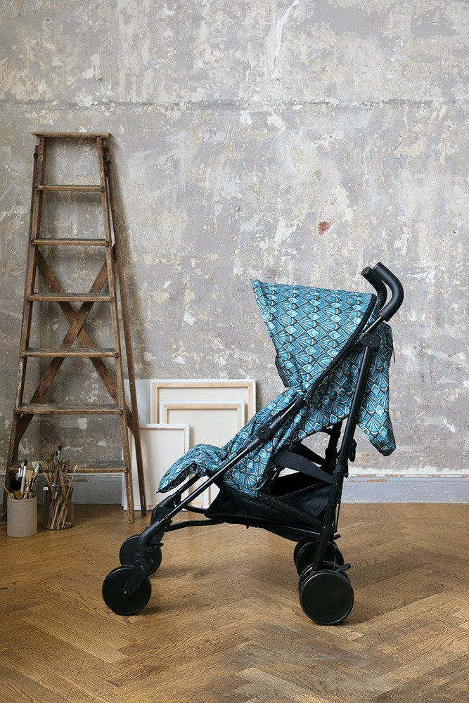 Elodie Details - wózek spacerowy Stockholm Stroller 3.0 - Everest Feathers