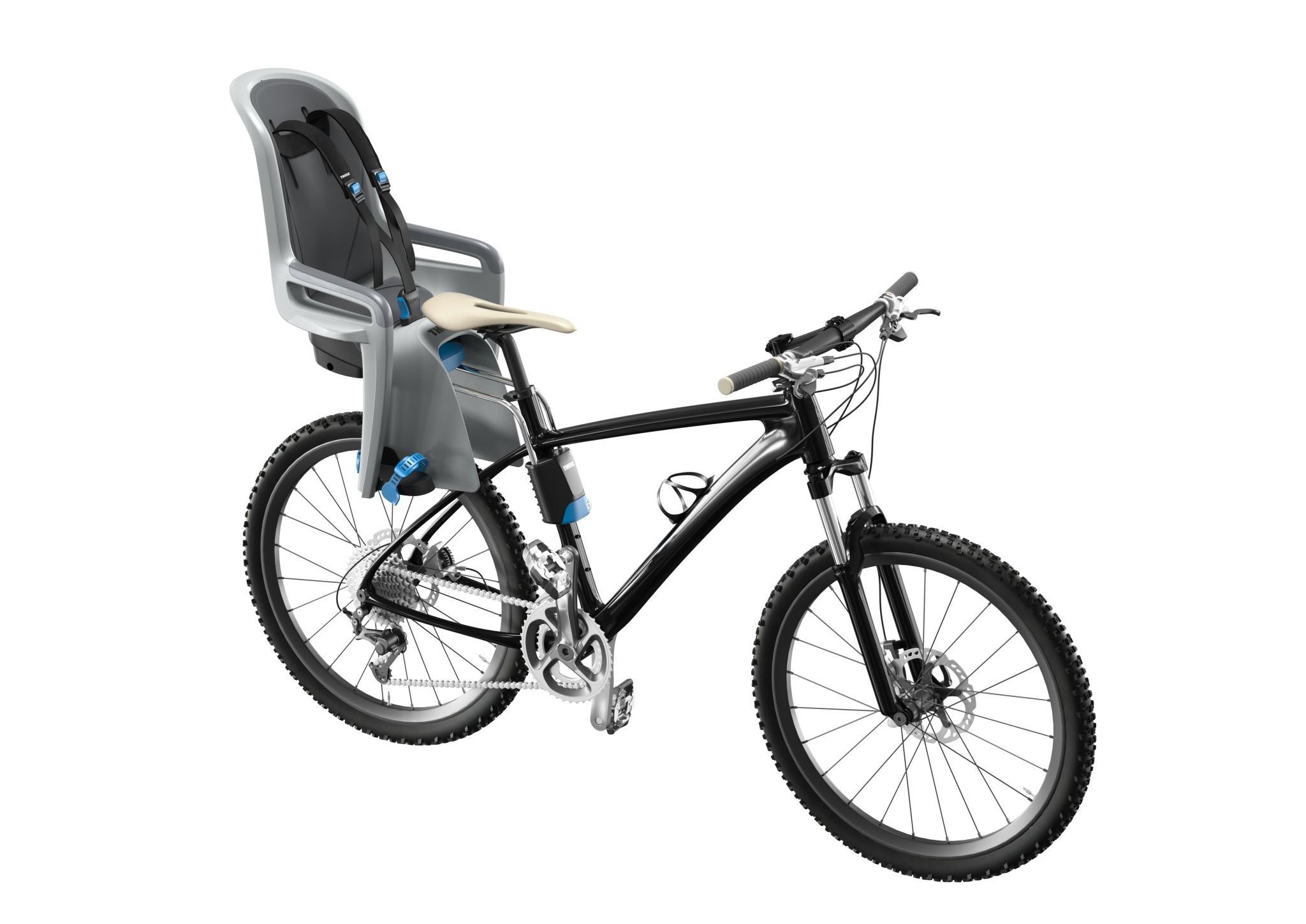 Fotelik rowerowy - THULE RideAlong - jasnoszary