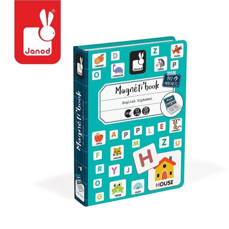 Janod – Magnetyczna układanka Alfabet Magnetibook kolekcja 2018