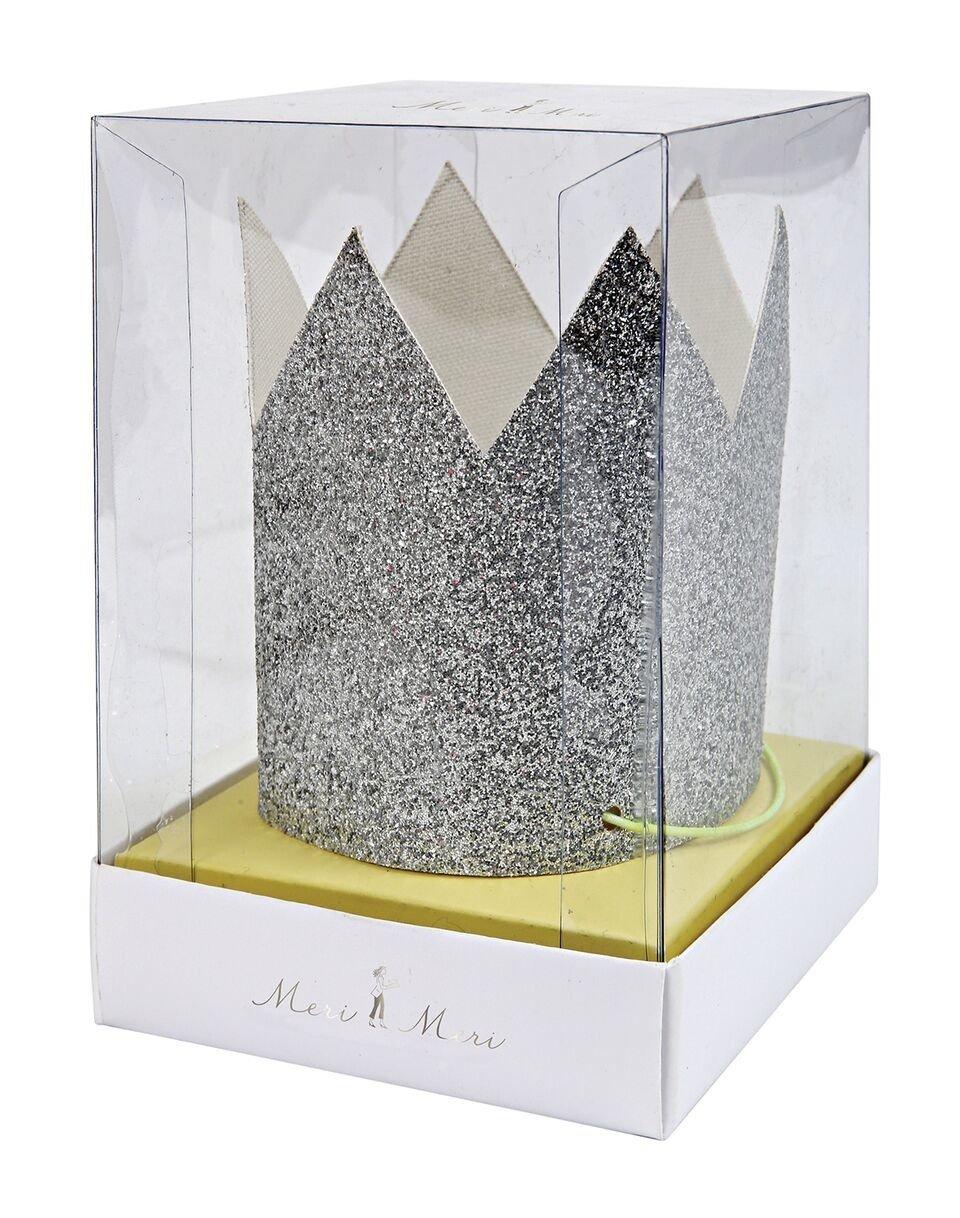 Meri Meri – Mini Korony srebrne