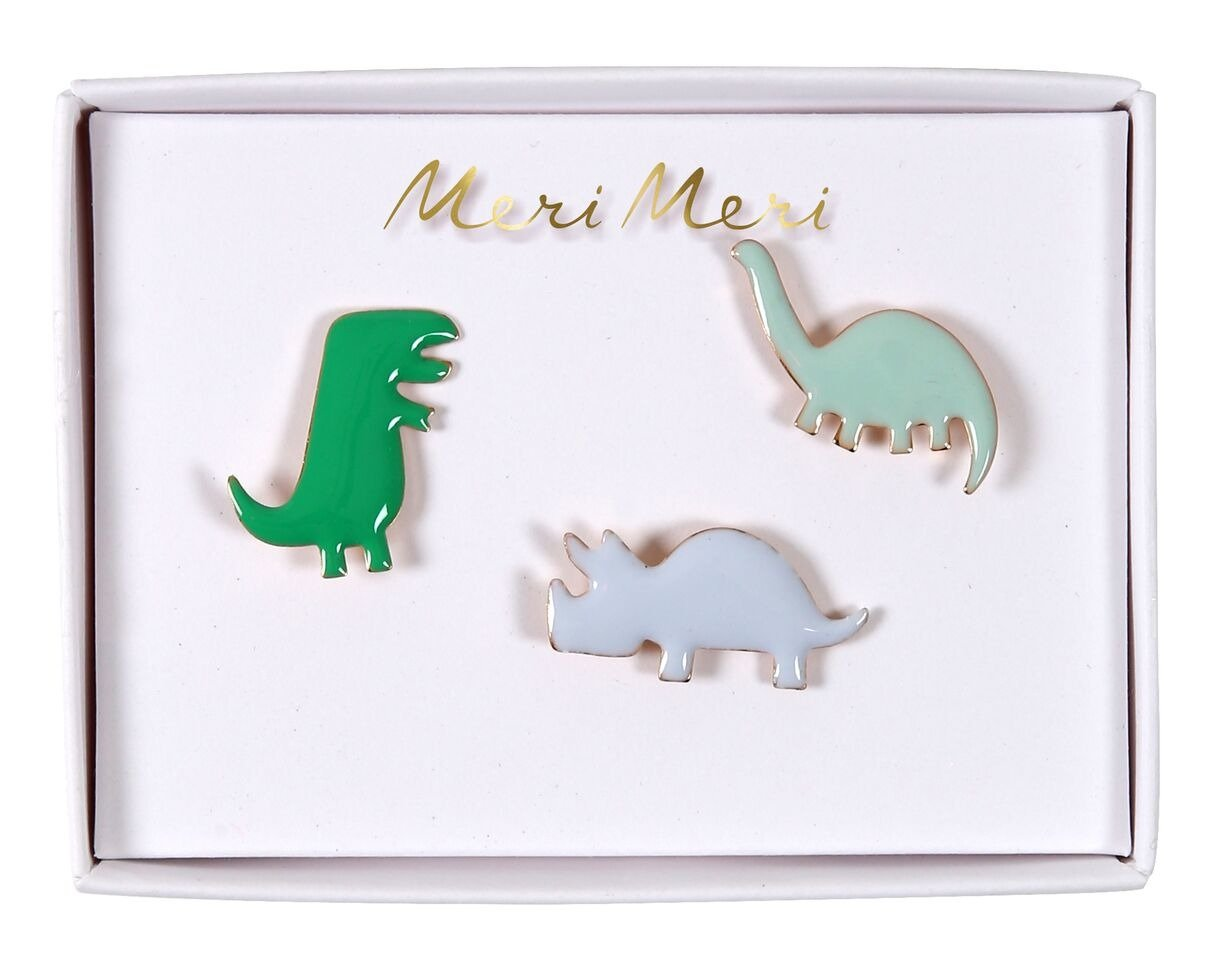 Meri Meri – Przypinki Dinozaur