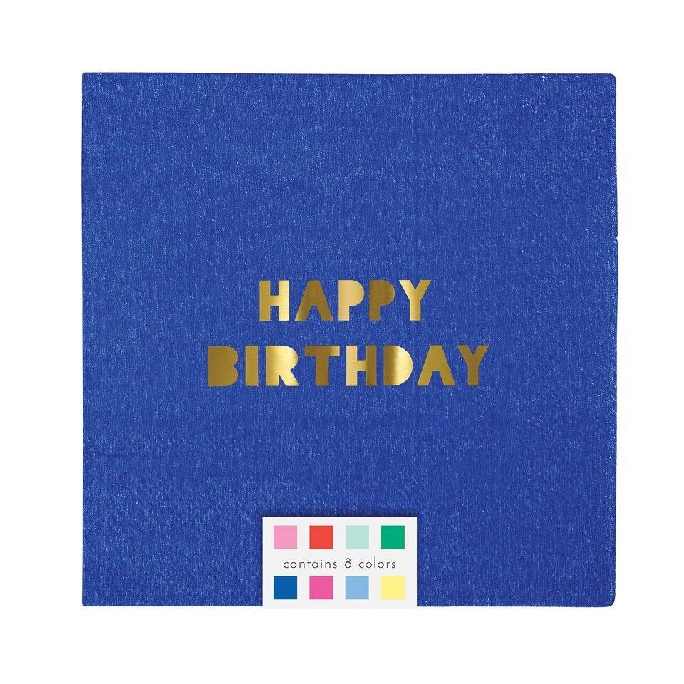 Meri Meri – Serwetki Happy Birthday