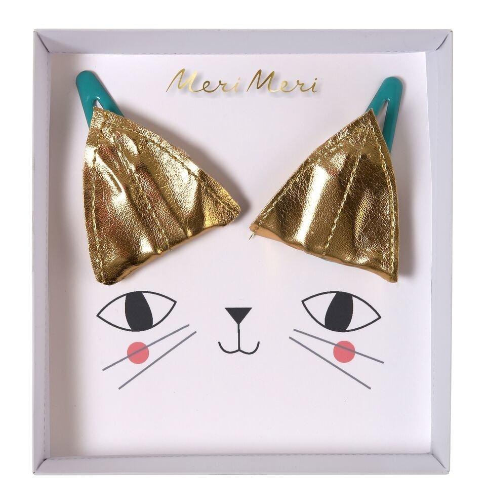 Meri Meri – Spinki do włosów Kot