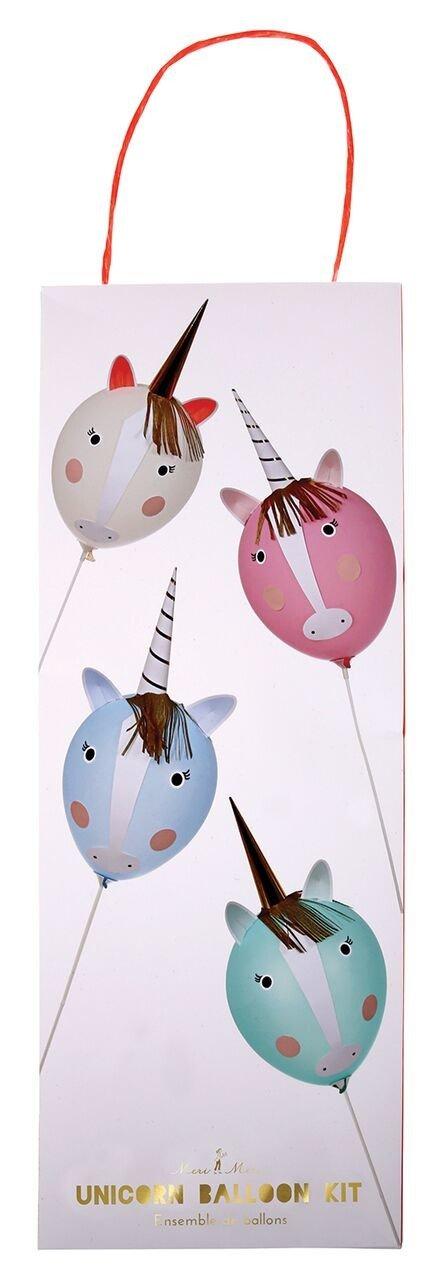 Meri Meri – Zestaw balonów Jednorożec