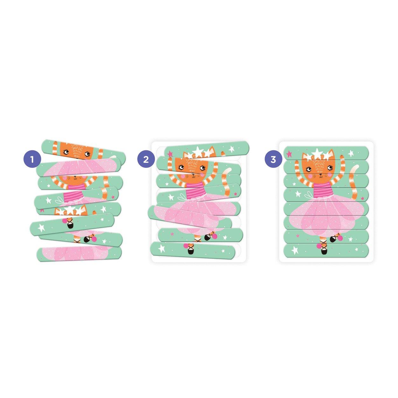 Mudpuppy - Puzzle Patyczki Tańczące baletnice 24 elementy 3+