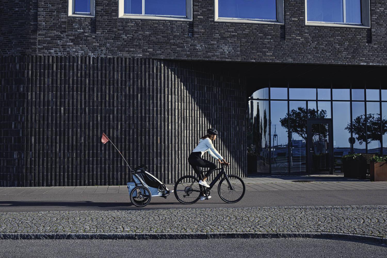Przyczepka rowerowa dla dziecka - THULE Chariot Cross 1 - Alaska
