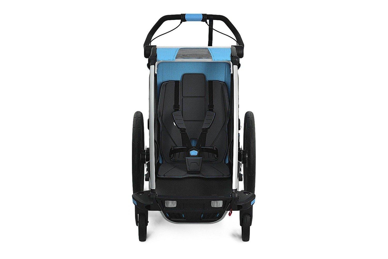 Przyczepka rowerowa dla dziecka - THULE Chariot Sport 1 - niebieska/czarna