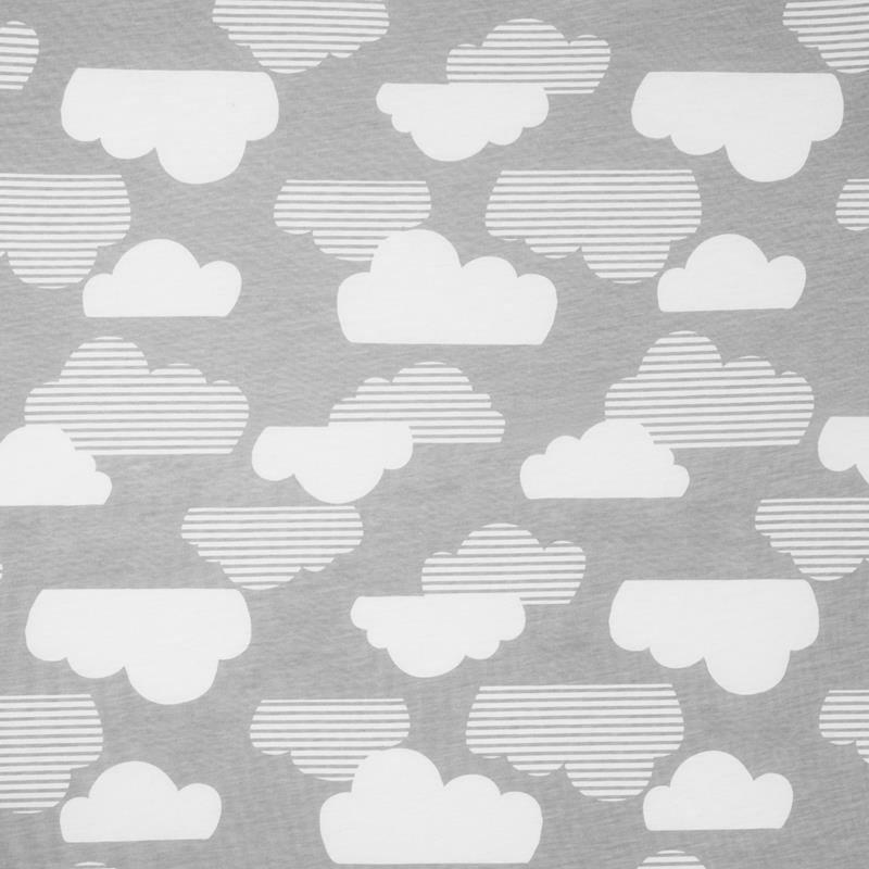 SKIP HOP - Zestaw prześcieradeł Chmurka 2szt