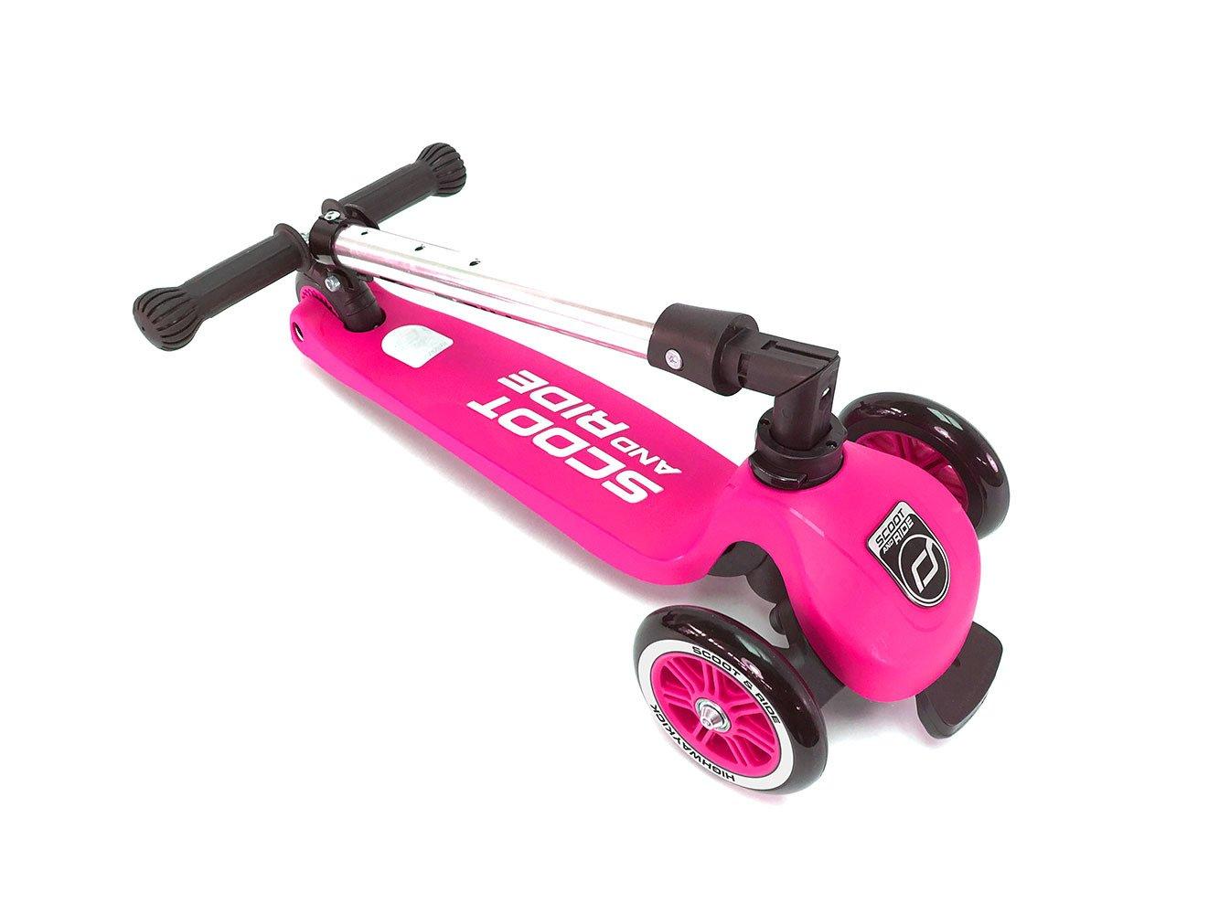 Scootandride - Highwaykick 3 Hulajnoga składana 3+ Pink