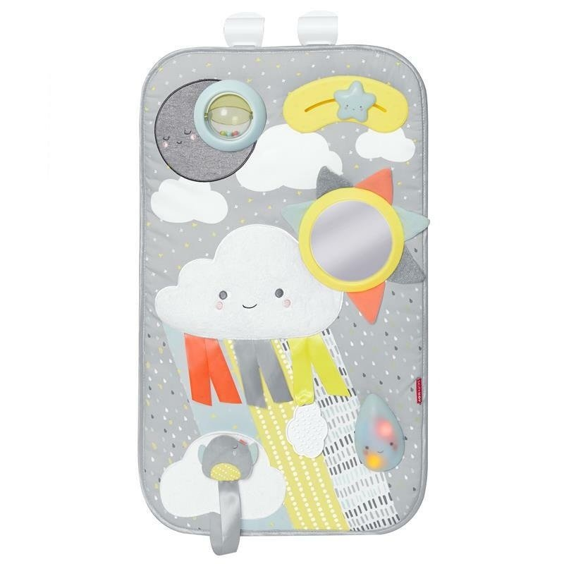 Skip Hop - Kojec wielowariantowy Chmurka z panelem do zabawy