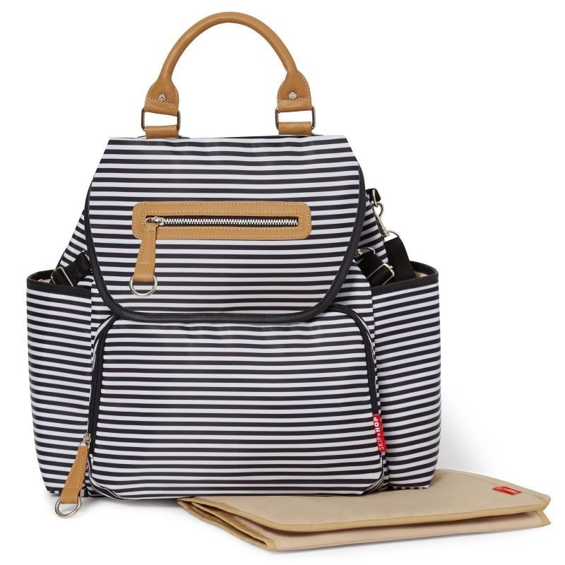 Skip Hop - Plecak Grand Central Black Stripe