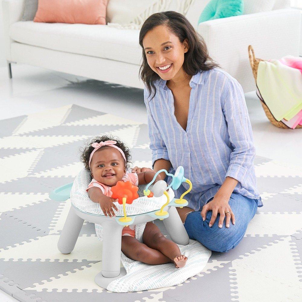 Skip Hop - Siedzisko dla niemowlaka 2w1 Chmurka