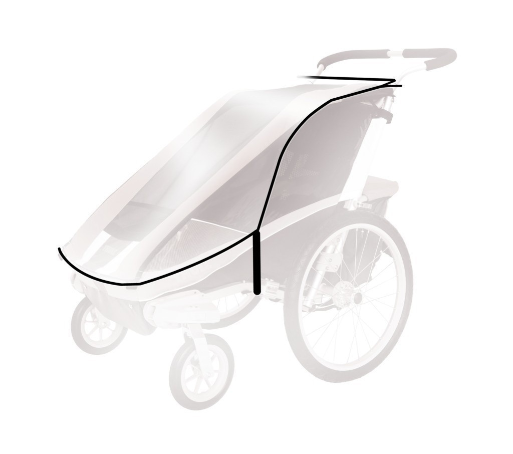 THULE Chariot - Osłona przeciwdeszczowa Cougar2/CX2