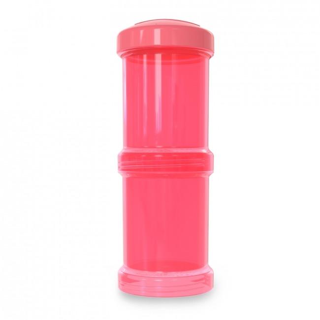Twistshake - Pojemnik 2x100ml, brzoskwiniowy