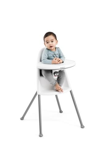 BABYBJORN High Chair - krzesełko do karmienia, białe