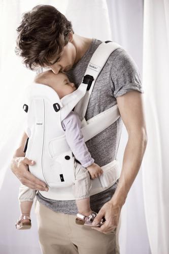 BABYBJORN WE AIR - nosidełko ergonomiczne, biały