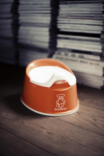 BABYBJORN - nocnik Smart - pomarańczowy